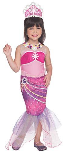 コスプレ衣装 コスチューム バービー人形 610099_S Rubies Barbie and The Pearl Princess Lumina Costume, Child Smallコスプレ衣装 コスチューム バービー人形 610099_S
