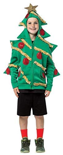 コスプレ衣装 コスチューム その他 16025-46 Rasta Imposta Christmas Tree Hoodie, 4-6コスプレ衣装 コスチューム その他 16025-46