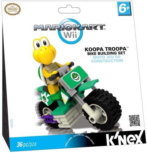 ケネックス 知育玩具 パズル ブロック 38308 K'NEX Nintendo Mario Kart Wii Koopa Troopa Bike Building Setケネックス 知育玩具 パズル ブロック 38308