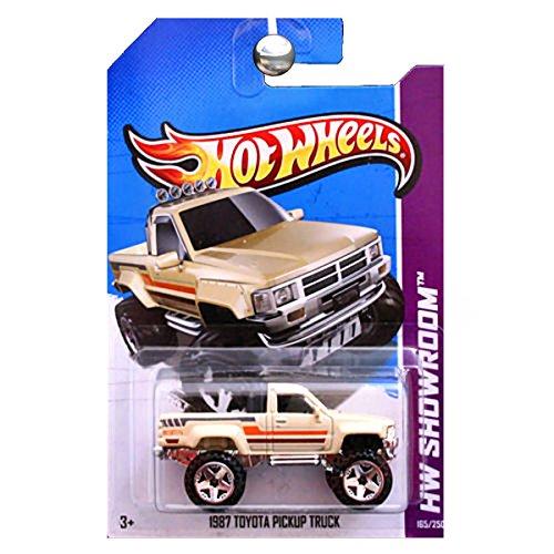 ホットウィール マテル ミニカー ホットウイール 【送料無料】2013 Hot Wheels Hw Showroom - 1987 Toyota Pickup Truck - Tanホットウィール マテル ミニカー ホットウイール
