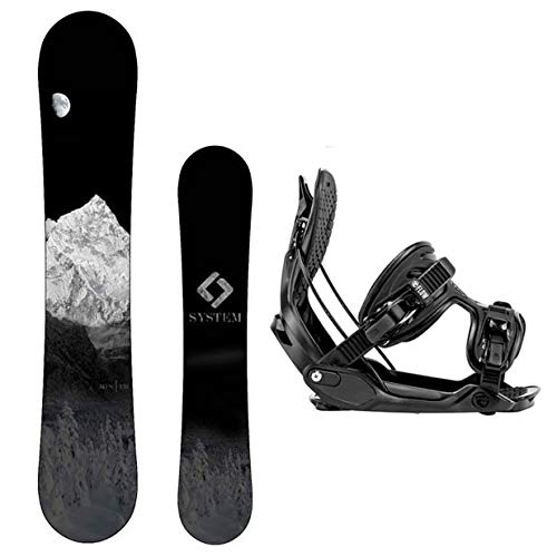 スノーボード ウィンタースポーツ システム 2017年モデル2018年モデル多数 Camp Seven System MTN Snowboard and 2016 Flow Alpha MTN Men's Snowboard Package (139 cm, Large Bindings)スノーボード ウィンタースポーツ システム 2017年モデル2018年モデル多数
