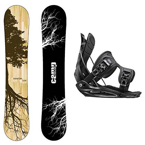 スノーボード ウィンタースポーツ キャンプセブン 2017年モデル2018年モデル多数 Camp Seven Package Roots CRC Snowboard-158 cm Wide-Flow Alpha MTN Snowboard Bindings-XLスノーボード ウィンタースポーツ キャンプセブン 2017年モデル2018年モデル多数