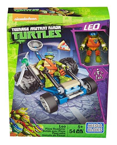 メガブロック メガコンストラックス 組み立て 知育玩具 DPF62 【送料無料】Mega Bloks Teenage Mutant Ninja Turtles Ninja Racers Leo Pizza Roadsterメガブロック メガコンストラックス 組み立て 知育玩具 DPF62