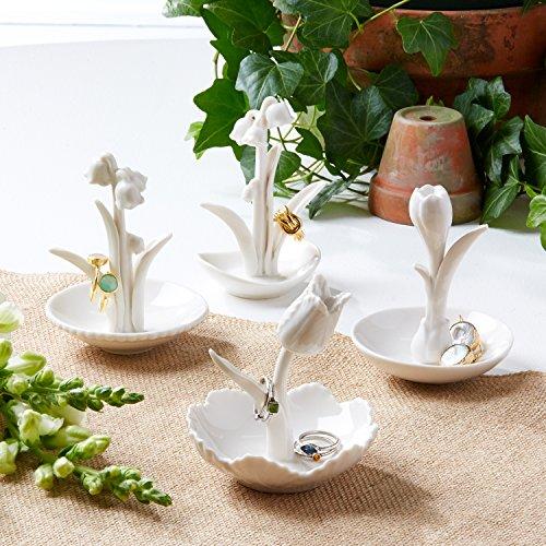 アクセサリスタンド ジュエリー 51083-20 Two's Company Ring Me a Flower Ring Holder Foxgloveアクセサリスタンド ジュエリー 51083-20