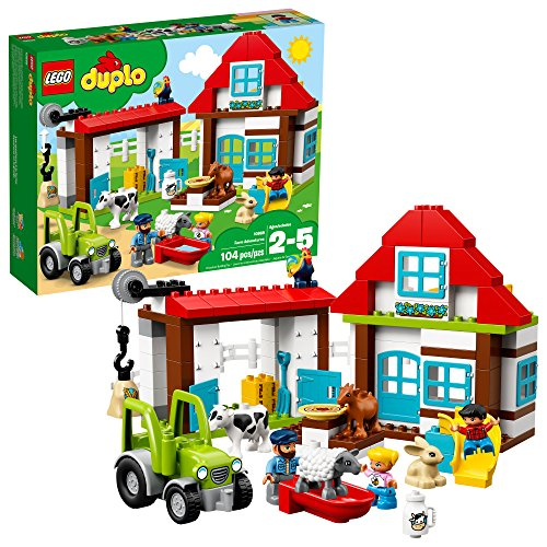 レゴ デュプロ 10869 LEGO DUPLO Town Farm Adventures 10869 Buidling Bricks (104 Piece)レゴ デュプロ 10869