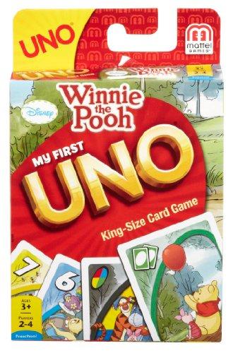 スポンジボブ カートゥーンネットワーク Spongebob キャラクター アメリカ限定多数 43169 【送料無料】MY FIRST UNO KING-SIZE Card Game with Winnie-the-Poohスポンジボブ カートゥーンネットワーク Spongebob キャラクター アメリカ限定多数 43169
