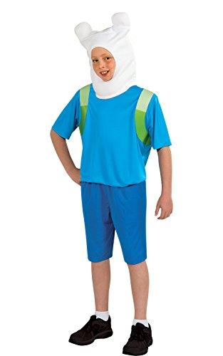 アドベンチャータイム バッグ バックパック リュックサック カートゥーンネットワーク 886685L Adventure Time Child's Finn Costume, Largeアドベンチャータイム バッグ バックパック リュックサック カートゥーンネットワーク 886685L