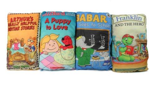 シンデレラ ディズニープリンセス SYNCHKG026544 【送料無料】Clifford, Arthur, Babar, and Franklin the Turtle Storybook Pillowsシンデレラ ディズニープリンセス SYNCHKG026544