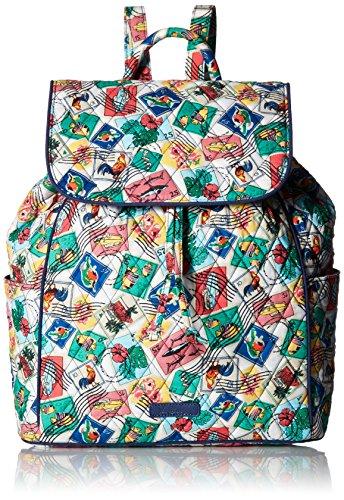 ヴェラブラッドリー ベラブラッドリー アメリカ フロリダ州マイアミ 日本未発売 15918 【送料無料】Vera Bradley Women's Signature Cotton Drawstring Backpack, Cuban Stampヴェラブラッドリー ベラブラッドリー アメリカ フロリダ州マイアミ 日本未発売 15918