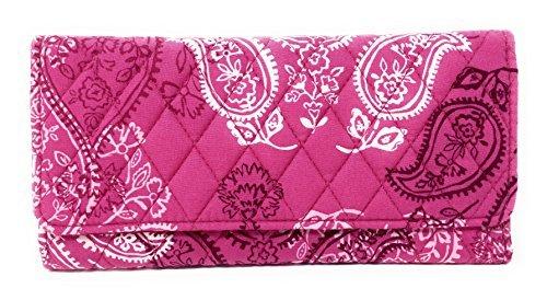 ヴェラブラッドリー ベラブラッドリー アメリカ 日本未発売 財布 14556-H97 Vera Bradley Trifold Wallet (Stamped Paisley)ヴェラブラッドリー ベラブラッドリー アメリカ 日本未発売 財布 14556-H97