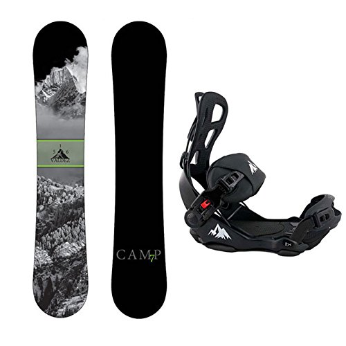 スノーボード ウィンタースポーツ キャンプセブン 2017年モデル2018年モデル多数 Camp Seven Package Valdez Snowboard 156 cm-System LTX Binding Largeスノーボード ウィンタースポーツ キャンプセブン 2017年モデル2018年モデル多数