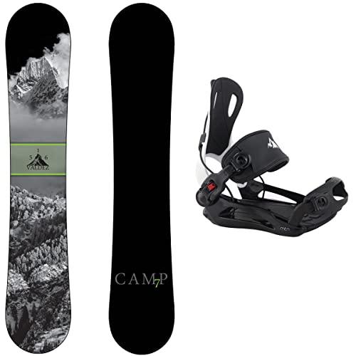 スノーボード ウィンタースポーツ キャンプセブン 2017年モデル2018年モデル多数 【送料無料】Camp Seven Package Valdez Snowboard 158 cm Wide-System MTN Binding Largeスノーボード ウィンタースポーツ キャンプセブン 2017年モデル2018年モデル多数