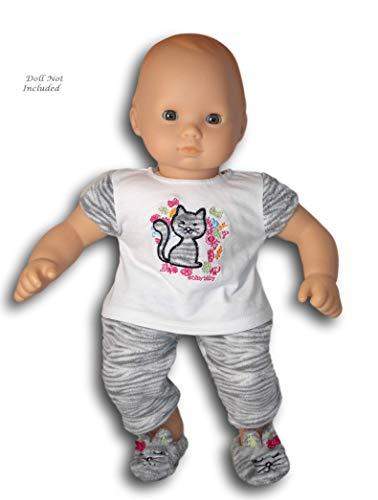 アメリカンガールドール 赤ちゃん おままごと ベビー人形 【送料無料】American Girl Bitty Baby Bitty Kitty Pajamas for 15