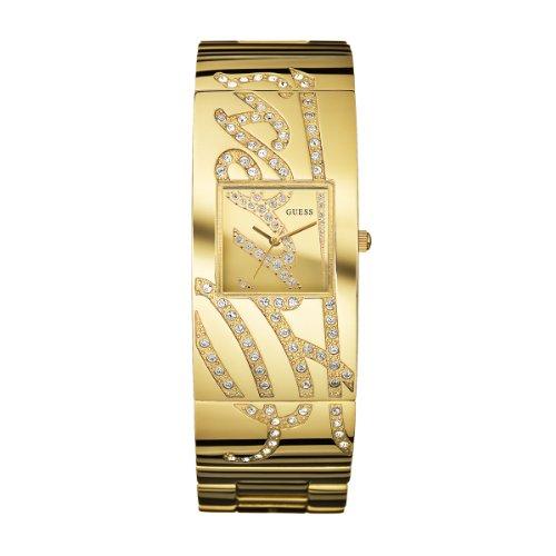 ゲス GUESS 腕時計 レディース W15052L1 GUESS Women's W15052L1 Signature Goldtone Stainless Steel Goldtone Dial Watchゲス GUESS 腕時計 レディース W15052L1