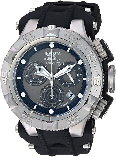 インヴィクタ インビクタ サブアクア 腕時計 メンズ 【送料無料】Invicta Men's Subaqua Stainless Steel Quartz Watch with Silicone Strap, Black, 29 (Model: 25348)インヴィクタ インビクタ サブアクア 腕時計 メンズ