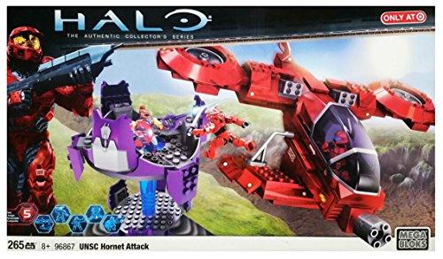 メガブロック メガコンストラックス ヘイロー 組み立て 知育玩具 【送料無料】Mega Bloks Halo Unsc Hornet Attackメガブロック メガコンストラックス ヘイロー 組み立て 知育玩具