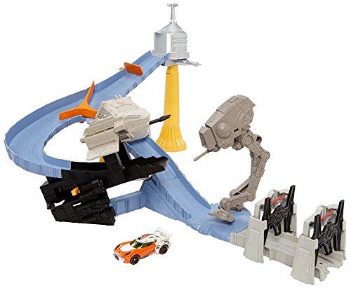 ホットウィール マテル ミニカー ホットウイール CLM24 【送料無料】Hot Wheels Star Wars TIE Factory Takedown Track Setホットウィール マテル ミニカー ホットウイール CLM24