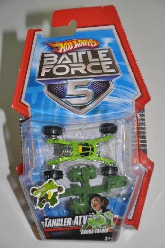 Hot Wheels Battle Force 5 Saber Die-Cast Car With Armor
