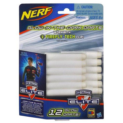 ナーフ エヌストライク アメリカ 直輸入 エリート A3001 【送料無料】Official Nerf N-Strike Elite Series 12 Glow Dart Refill Packナーフ エヌストライク アメリカ 直輸入 エリート A3001
