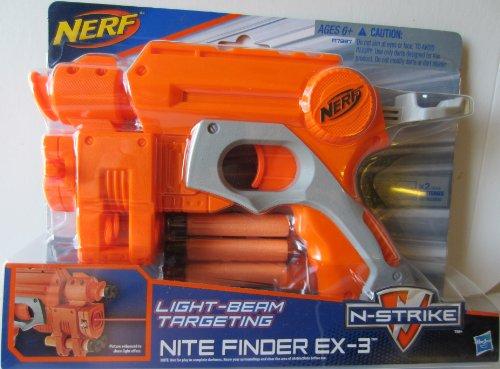 ナーフ エヌストライク アメリカ 直輸入 エリート Hasbro Nerf N-Strike Jolt EX-1 Blaster 【送料無料】Nerf N Strike Orange & Grey Nite Finder EX-3ナーフ エヌストライク アメリカ 直輸入 エリート Hasbro Nerf N-Strike Jolt EX-1 Blaster