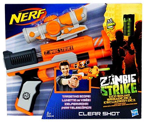 ナーフ ゾンビストライク アメリカ 直輸入 ソフトダーツ A9548 Nerf Zombie Strike Clear Shotナーフ ゾンビストライク アメリカ 直輸入 ソフトダーツ A9548
