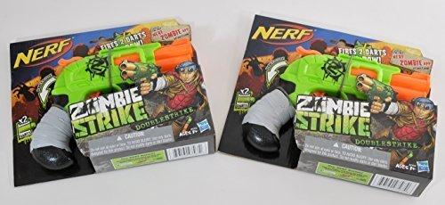 ナーフ ゾンビストライク アメリカ 直輸入 ソフトダーツ Nerf Double Strike Zombie Guns Blasters Bundle- Set of 2ナーフ ゾンビストライク アメリカ 直輸入 ソフトダーツ
