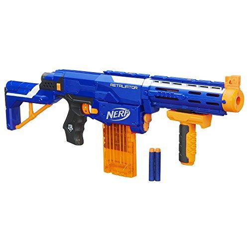 ナーフ エヌストライク アメリカ 直輸入 エリート B0083 Nerf B0083 N-Strike Elite 4-in-1 Retaliator Blaster, 2.7 x 18.9 x 11.5 -Inchesナーフ エヌストライク アメリカ 直輸入 エリート B0083