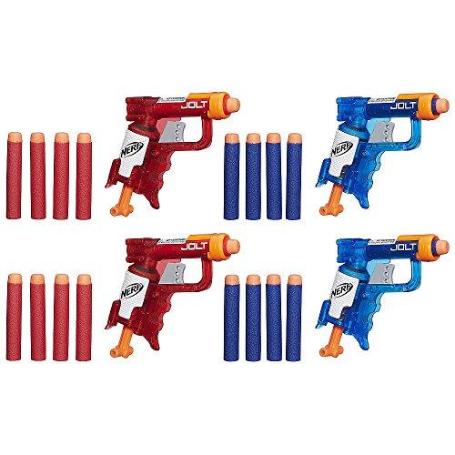 ナーフ エヌストライク アメリカ 直輸入 エリート - 【送料無料】NERF N-Strike Elite Sonic Fire and Ice Jolt Team Pack of Four Blastersナーフ エヌストライク アメリカ 直輸入 エリート -