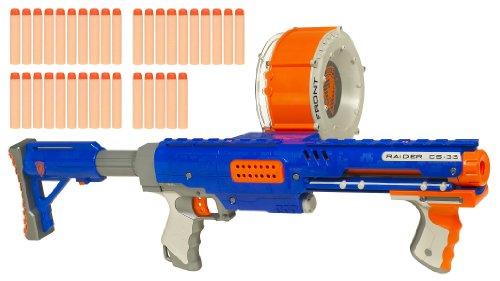 ナーフ エヌストライク アメリカ 直輸入 エリート 21307 【送料無料】NERF N-Strike Raider Rapid Fire CS-35 Dart Blasterナーフ エヌストライク アメリカ 直輸入 エリート 21307