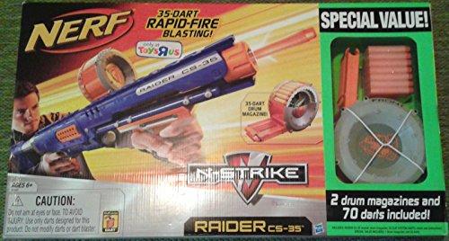 ナーフ エヌストライク アメリカ 直輸入 エリート Nerf N-Strike Raider Rapid Fire CS-35 Blaster Bonus Packナーフ エヌストライク アメリカ 直輸入 エリート