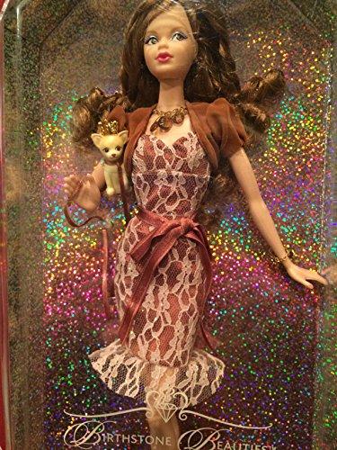 バービー バービー人形 日本未発売 バースデーバービー バースデーウィッシュ 【送料無料】Miss Topaz Birthday Beauties Barbie - November Fair Skin with Brunette Hairバービー バービー人形 日本未発売 バースデーバービー バースデーウィッシュ