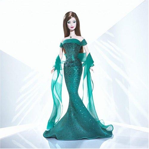 バービー バービー人形 バースストーン 誕生石 12カ月 B3413 Barbie Doll May Emerald Birthstone Collection by Mattelバービー バービー人形 バースストーン 誕生石 12カ月 B3413