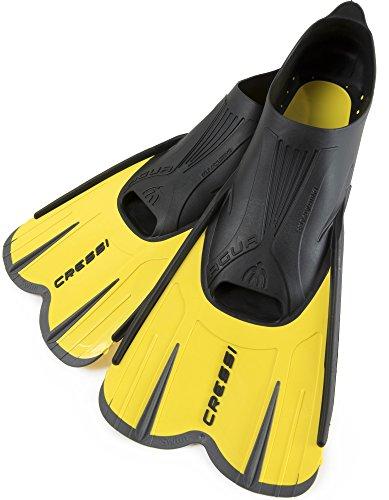 シュノーケリング マリンスポーツ LEPUSHPDJ6157 【送料無料】Cressi Agua, yellow/black, 45/46シュノーケリング マリンスポーツ LEPUSHPDJ6157