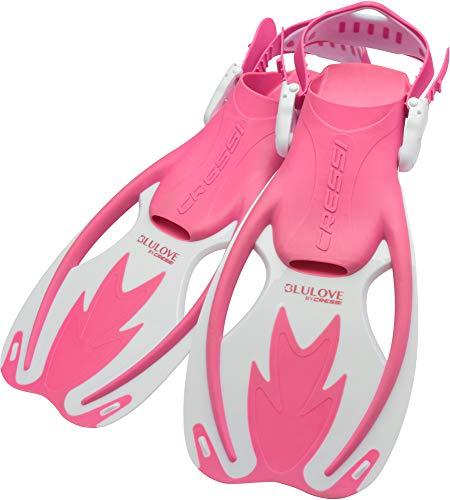 シュノーケリング マリンスポーツ Cressi Rocks Kids Fins (Pink White, Large/X-Large)シュノーケリング マリンスポーツ