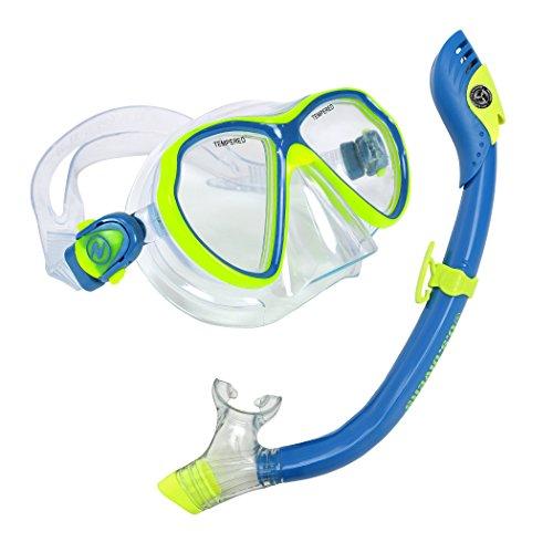 【ファッション通販】 シュノーケリング マリンスポーツ 281036 281036 U.S. Divers 281036 Combo, Divers Lanaii Jr Mask Paradise Snorkel Combo, Yellow/Blueシュノーケリング マリンスポーツ 281036, 名栗村:86f9757b --- aqvalain.ru