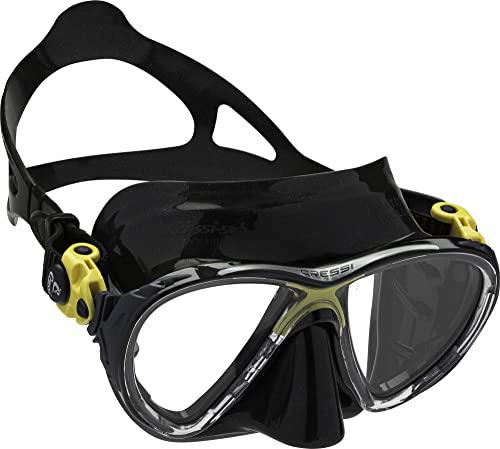シュノーケリング マリンスポーツ DS336510 Cressi Big Eyes Evolution, black/yellowシュノーケリング マリンスポーツ DS336510