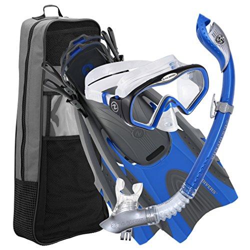 シュノーケリング マリンスポーツ LEPUSHPDJ6322 U.S. Divers Pro LX+ Snorkeling Set Starbuck Iii LX Purge Mask, Electric Blue, Small/Mediumシュノーケリング マリンスポーツ LEPUSHPDJ6322