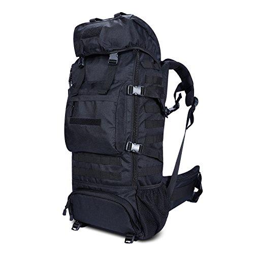 ミリタリーバックパック タクティカルバックパック サバイバルゲーム サバゲー アメリカ Tactical Military Molle Backpack 70L, Gonex Oxford Waterproof Hiking Camping Backpacミリタリーバックパック タクティカルバックパック サバイバルゲーム サバゲー アメリカ
