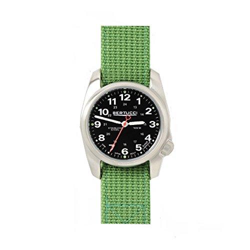 ベルトゥッチ 逆輸入 海外モデル 海外限定 アメリカ直輸入 10015 Bertucci 10015 Unisex Stainless Steel Green Nylon Band Black Dial Smart Watchベルトゥッチ 逆輸入 海外モデル 海外限定 アメリカ直輸入 10015