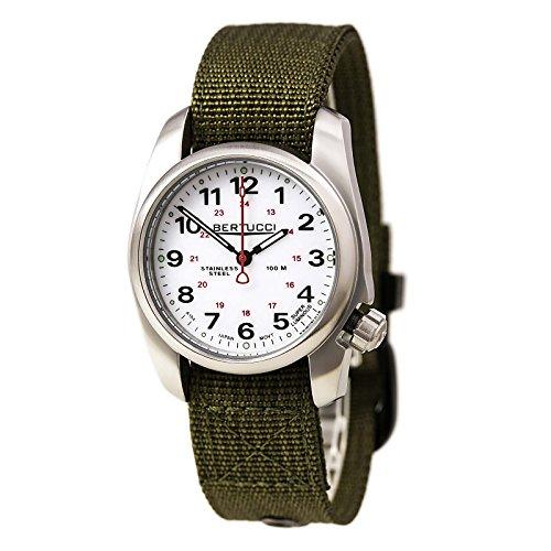 ベルトゥッチ 逆輸入 海外モデル 海外限定 アメリカ直輸入 10013.0 【送料無料】Bertucci A-1S Field Watch White - Oliveベルトゥッチ 逆輸入 海外モデル 海外限定 アメリカ直輸入 10013.0