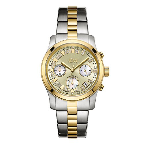 高級腕時計 レディース JB-6217-C 【送料無料】JBW Luxury Women's Alessandra Diamond Wrist Watch with Stainless Steel Bracelet高級腕時計 レディース JB-6217-C