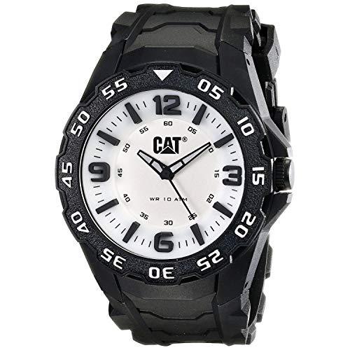キャタピラー タフネス 腕時計 メンズ 頑丈 LB11121231 【送料無料】CAT WATCHES Men's LB11121231 Motion Analog Display Quartz Black Watchキャタピラー タフネス 腕時計 メンズ 頑丈 LB11121231