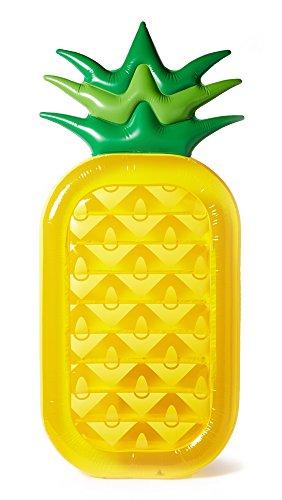 フロート プール 水遊び 浮き輪 wz-SULPIPXY-TU 【送料無料】SunnyLife Women's Inflatable Pineapple Raft, Yellow/Green, One Sizeフロート プール 水遊び 浮き輪 wz-SULPIPXY-TU
