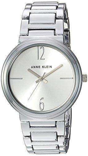 アンクライン 腕時計 レディース AK/3169SVSV Anne Klein Women's AK/3169SVSV Silver-Tone Bracelet Watchアンクライン 腕時計 レディース AK/3169SVSV