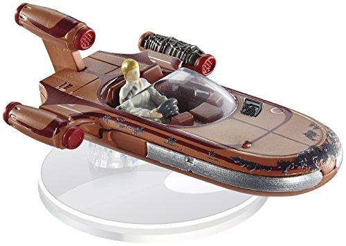 ホットウィール マテル ミニカー ホットウイール FBB12 【送料無料】Hot Wheels Star Wars Luke Skywalker's Landspeeder, vehicleホットウィール マテル ミニカー ホットウイール FBB12