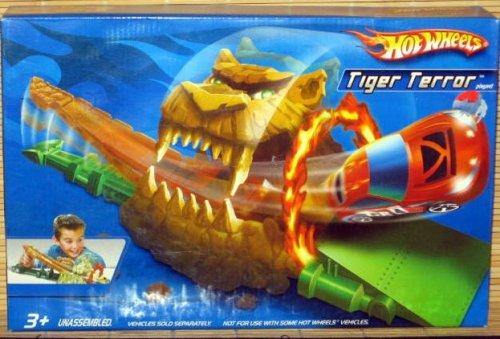 ホットウィール マテル ミニカー ホットウイール J6527 【送料無料】Hot Wheels Tiger Terror Race Playsetホットウィール マテル ミニカー ホットウイール J6527