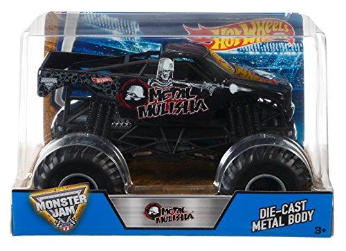 ホットウィール マテル ミニカー ホットウイール DJW89 Hot Wheels Monster Jam Metal Mulisha Vehicleホットウィール マテル ミニカー ホットウイール DJW89