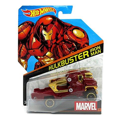 ホットウィール マテル ミニカー ホットウイール Hot Wheels, Marvel Character Car, Hulkbuster Iron Man #19, 1:64 Scaleホットウィール マテル ミニカー ホットウイール