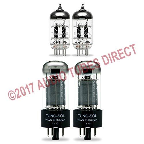 真空管 ギター・ベース アンプ 海外 輸入 6V6GT 12AX7 Tung-Sol Tube Upgrade Kit For Rivera Venus 3 Amps 6V6GT 12AX7真空管 ギター・ベース アンプ 海外 輸入 6V6GT 12AX7