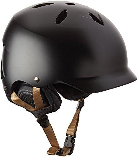 ウォーターヘルメット 安全 マリンスポーツ サーフィン ウェイクボード SW05ESBLK11 Bern Lenox Snow Helmet - Satin Black / Black Linerウォーターヘルメット 安全 マリンスポーツ サーフィン ウェイクボード SW05ESBLK11